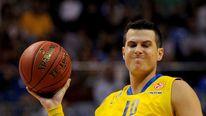 Maccabi Electra's Israeli forward Guy Pnini