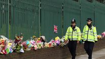 Police on patrol in Woolwich after soldier killing
