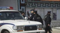 Armed police in Qinghai