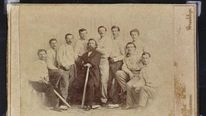 Brooklyn Atlantics 1865 baseball card