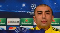 Roberto Di Matteo Before Chelsea's Champions League Game In Turin