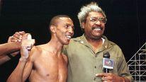 Boxer Antonio Cermeno with promoter Don King