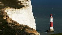 The Seven Sisters cliffs are seen close to the Beachy Head lighthouse near Eastbourne, in southern England September 1, 2011.