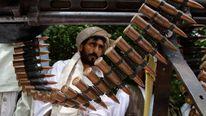 A Taliban militant