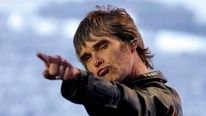 Ian Brown cut a confident figure during the show