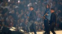 Arctic Monkeys perform at the London Olympics