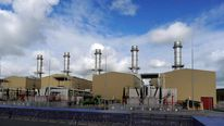Energy company RWE npower's gas-fired Pembroke Power Station