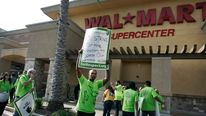 Wal-Mart workers strike California Oct 4 2012