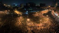 Tahrir Square as Egyptians protest against the Muslim Brotherhood