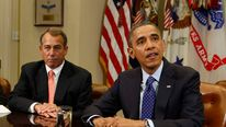 President Obama and House Speaker Boehner