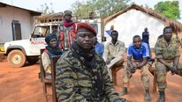 Seleka spokesman Col Djouma Narkoyo in the Central African Republic