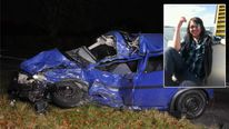 A 23-year-old woman died in this crash in Hampshire in November 2011