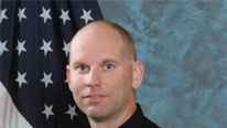 Sgt Smith was shot dead by a fellow officer while conducting a search