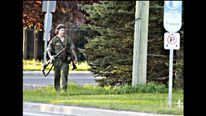 Canada shooting suspect Justin Bourque as seen in a photo released by police.