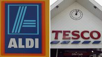 Aldi and Tesco