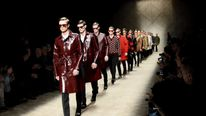 Burberry's Autumn-Winter 2013 Menswear Show