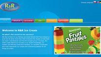 R&R ice cream website