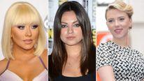 Christina Aguilera Mila Kunis Scarlett Johansson