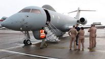 RAF SENTINEL AIRCRAFT DEPLOYS TO AFRICA