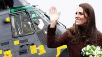 William and Kate are to get use of a new helicopter