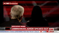 Zimmerman juror on CNN