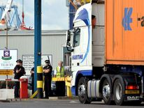 Container death at Tilbury Docks