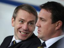 Malky Mackay, right, Iain Moody