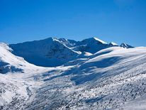 The Rila mountains near Borovets, Bulgaria