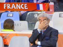 France's coach Raymond Domenech in 2010 World Cup