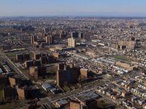 Bronx aerial view