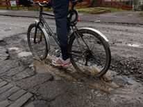 Potholes In The Roads Surrounding Glasgow