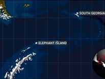 Shackleton Journey recreated Antarctica