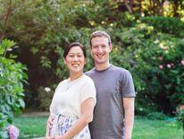 Mark Zuckerberg and his wife Priscilla.