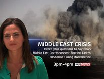 Put your questions to Sky's Sherine Tadros in our Twitter Q&A