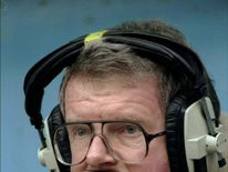 Football commentator John Motson