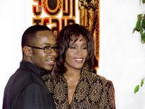 Whitney Houston and Bobby Brown in 1994