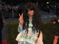 M.I.A. at the Costume Institute Gala in New York