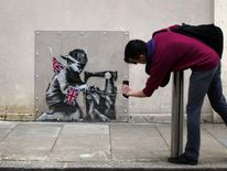 Banksy Artwork Appears In North London