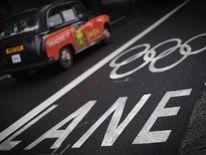 Olympic Games Lanes Open Around London