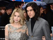 Peaches Geldof and husband Thomas Cohen