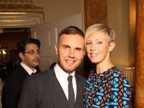 Barlow and Dawn at Children In Need reception at No 10
