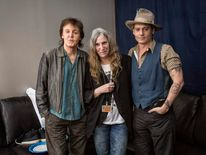 Sir Paul McCartney, Patti Smith and Johnny Depp