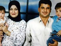 Baha Mousa and his family
