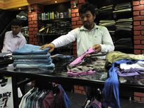 Co-owners in Hitler clothing store, Ahmedabad