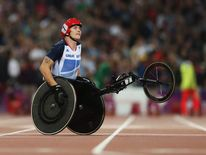 David Weir won 800m T54 final