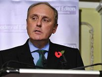 Daily Mail editor-in-chief Paul Dacre speaks at the Society of Editors conference