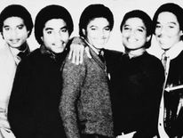 Early 80's portrait of the Jacksons