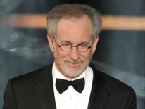 Film director Steven Spielberg at 81st Academy Awards
