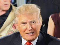 American billionaire Donald Trump