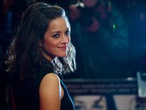 Marion Cotillard of 'Rust and Bone' on the red carpet.